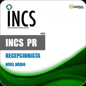 Apostila Seletivo INCS Curitiba PR 2019 Recepcionista