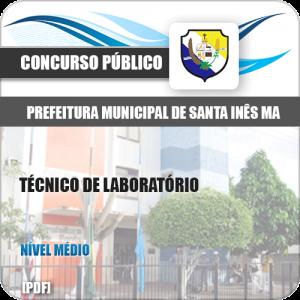 Apostila Pref de Santa Inês MA 2020 Técnico de Laboratório