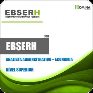 Apostila Concurso EBSERH 2020 Analista Administrativo Economia