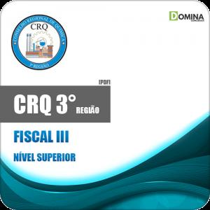 Apostila Concurso Público CRQ 3 Região 2020 Fiscal III