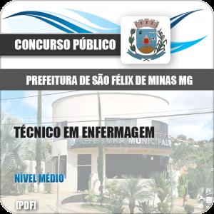 Apostila Pref São Félix Minas MG 2020 Técnico em Enfermagem