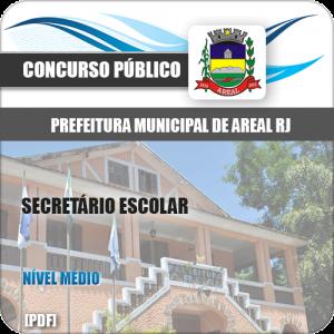 Apostila Concurso Pref Areal RJ 2020 Secretário Escolar