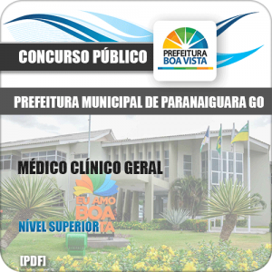 Apostila Concurso Pref Boa Vista RR 2020 Médico Clínico Geral