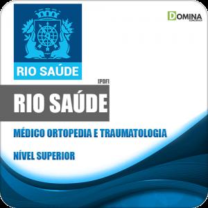 Apostila RioSaúde RJ 2020 Médico Ortopedia e Traumatologia