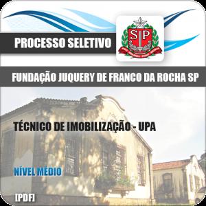 Apostila Franco da Rocha SP 2020 Técnico de Imobilização UPA