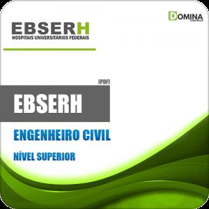 Apostila Concurso Público EBSERH 2020 Engenheiro Civil