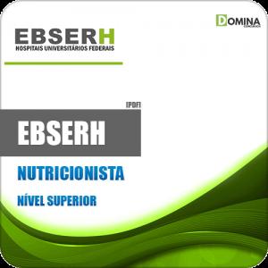 Apostila Concurso Público EBSERH 2020 Nutricionista