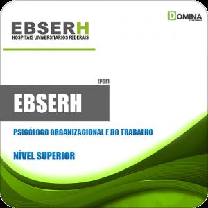 Apostila EBSERH 2020 Psicólogo Organizacional e do Trabalho