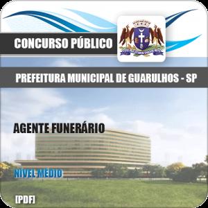 Apostila Concurso Pref Guarulhos SP 2020 Agente Funerário