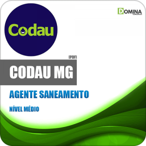Apostila CODAU Uberaba MG 2020 Agente Saneamento