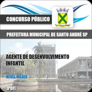 Apostila Pref de Santo André SP 2020 Agt Desenvolvimento Infantil