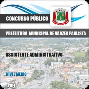 Apostila Pref de Várzea Paulista SP 2020 Assistente Administrativo