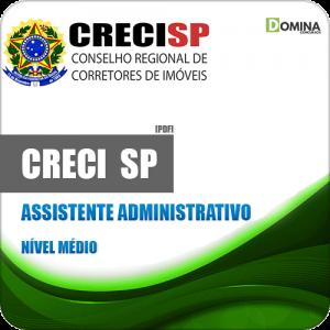 Apostila Processo Seletivo CRECI SP Assistente Administrativo