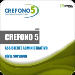 Apostila CREFONO 5 GO DF 2019 Assistente Administrativo