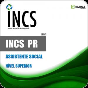 Apostila Seletivo INCS Curitiba PR 2019 Assistente Social