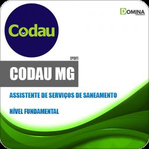 Apostila CODAU Uberaba MG 2020 Assistente Saneamento
