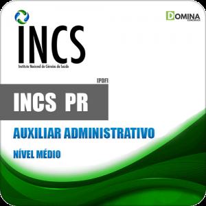 Apostila Seletivo INCS Curitiba PR 2019 Auxiliar Administrativo