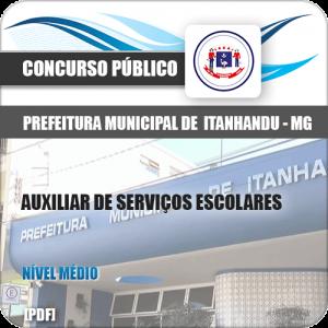 Apostila Pref de Itanhandu MG 2020 Auxiliar Serviços Escolares