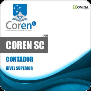 Apostila Concurso Público COREN SC 2020 Contador