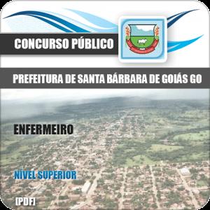 Apostila Pref Santa Bárbara Goiás GO 2020 Enfermeiro