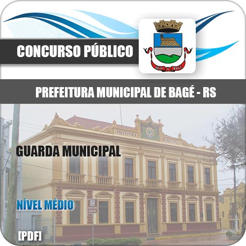 Apostila Concurso Público Pref de Bagé RS 2020 Guarda Municipal