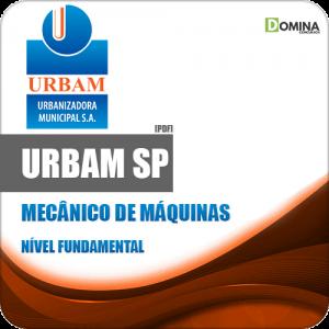 Apostila Concurso URBAM SP 2020 Mecânico de Máquinas