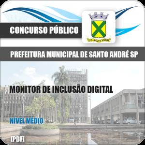 Apostila Pref de Santo André SP 2020 Monitor de Inclusão Digital