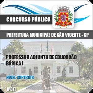 Apostila Pref São Vicente SP 2020 Professor de Educação Básica I