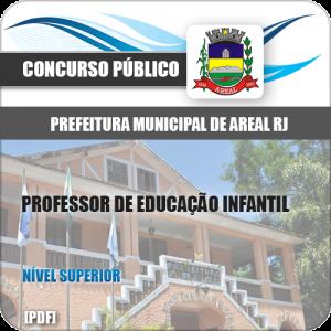Apostila Concurso Pref Areal RJ 2020 Prof de Educação Infantil