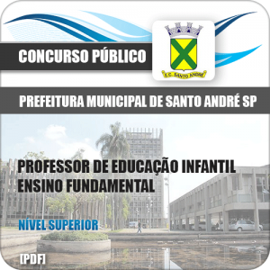 Apostila Pref de Santo André SP 2020 Prof Ensino Fundamental