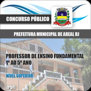 Apostila Pref Areal RJ 2020 Professor Fundamental 1º ao 5º Ano