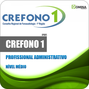Apostila CREFONO 1 2020 Profissional Administrativo