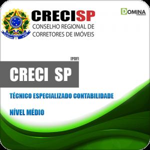 Apostila Seletivo CRECI SP 2020 Técnico em Contabilidade