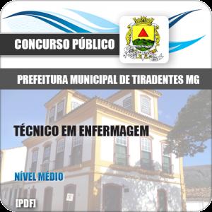 Apostila Pref de Tiradentes MG 2020 Técnico em Enfermagem