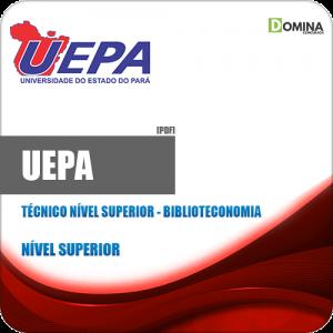 Apostila Concurso UEPA 2020 Técnico Nível Superior Biblioteconomia
