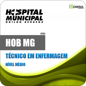 Apostila Concurso HOB MG 2020 Técnico em Enfermagem
