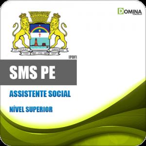 Capa SMS PE Assistente Social
