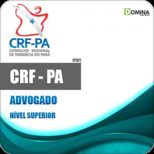 Capa CRF PA 2020 Advogado