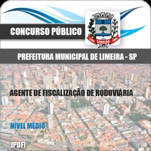 Apostila Limeira SP 2020 Agente de Fiscalização Rodoviária