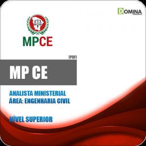 Capa MP CE 2020 Analista Ministerial Engenharia Civil