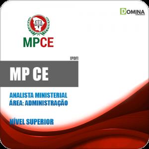 Capa Apostila MP CE 2020 Analista Ministerial Administração