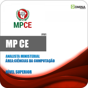 Apostila MP CE 2020 Analista Ciências da Computação