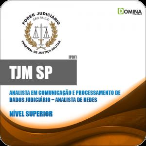 Apostila Concurso TJM SP 2020 Analista de Redes