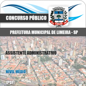 Apostila Concurso Limeira SP 2020 Assistente Administrativo