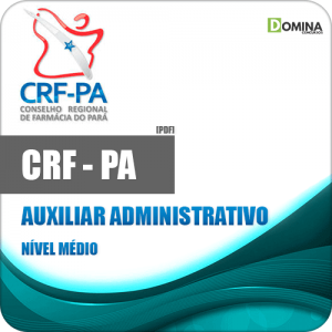 CAPA CRF PA 2020 Auxiliar Administrativo
