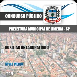 Apostila Concurso Limeira SP 2020 Auxiliar de Laboratório