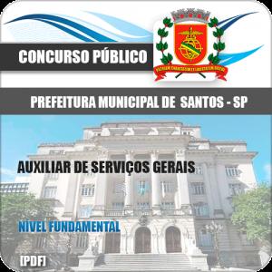 Apostila Concurso Limeira SP 2020 Auxiliar de Serviços Gerais