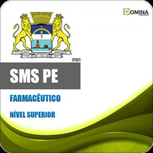 Apostila Concurso SESAU Recife PE 2020 Farmacêutico