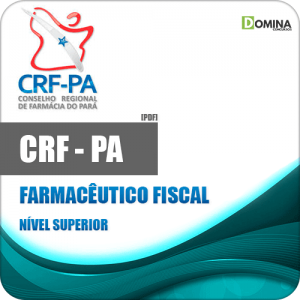 Capa CRF PA 2020 Farmacêutico Fiscal