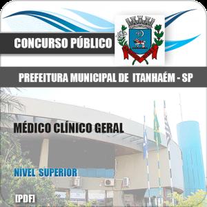 Apostila Concurso Pref Itanhaém SP 2020 Médico Clínico Geral